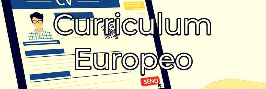 scarica cv formato europeo