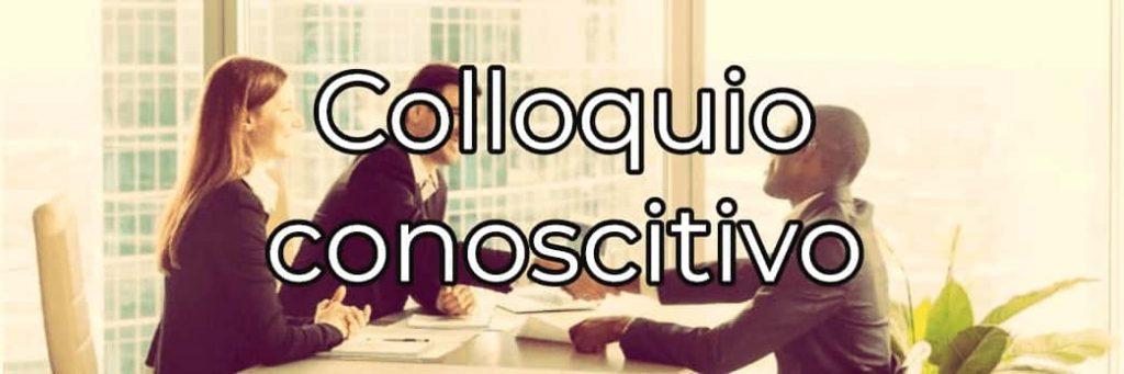Che cos'è il colloquio conoscitivo