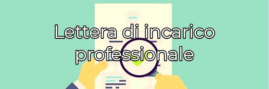 scaricare lettera incarico professionale