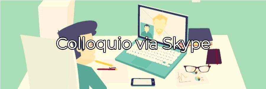 consigli per sostenere un colloquio via Skype al massimo